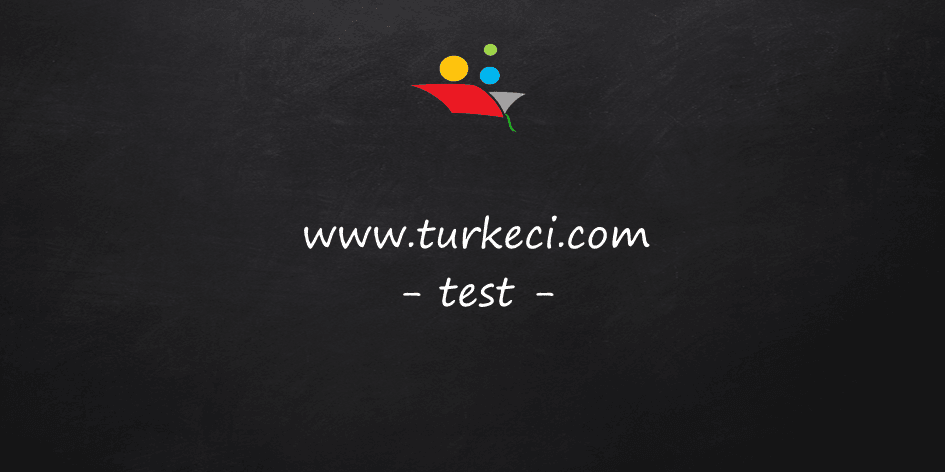 6.Sınıf Türkçe Dersi İsimler (Adlar) Konu Testi